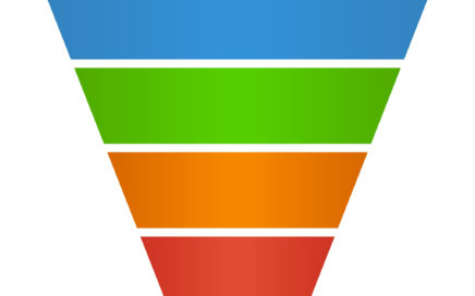 47781681 - sales lead funnel flat icon for presentation apps and websites