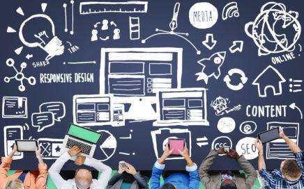 46339339 - responsive design responsive quality content share online concept