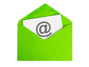 38787207 - paper sheet with email icon in green envelope